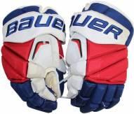 Marc Staal New York Rangers 2015-16 Season Game Used Bauer Vapor APX Gloves (Pair)