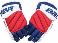 Marc Staal New York Rangers 2015-2016 Season Game Used Bauer APX2 Gloves (Pair)