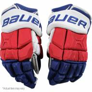 Marc Staal New York Rangers 2016-17 Season Game Used #18 Bauer Gloves