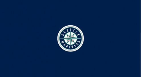 Seattle Mariners MLB Team Logo Billiard Cloth