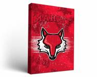 Marist Red Foxes Banner Canvas Wall Art