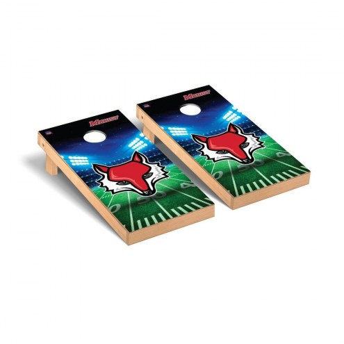 Marist Red Foxes Stadium Cornhole Game Set