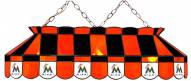 """Florida Marlins MLB Team 40"""" Rectangular Stained Glass Shade"""