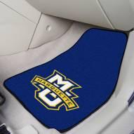 Marquette Golden Eagles 2-Piece Carpet Car Mats