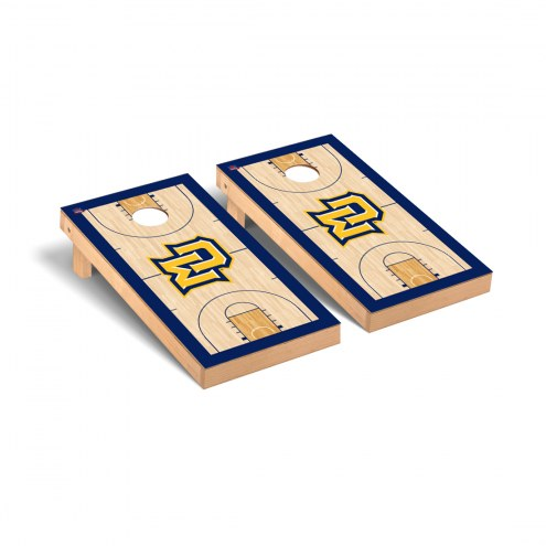Marquette Golden Eagles Basketball Court Cornhole Game Set