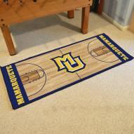 Marquette Golden Eagles Basketball Court Runner Rug
