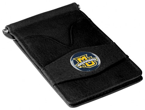 Marquette Golden Eagles Black Player's Wallet