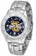 Marquette Golden Eagles Competitor Steel AnoChrome Men's Watch