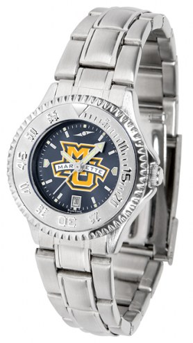 Marquette Golden Eagles Competitor Steel AnoChrome Women's Watch
