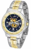 Marquette Golden Eagles Competitor Two-Tone AnoChrome Men's Watch