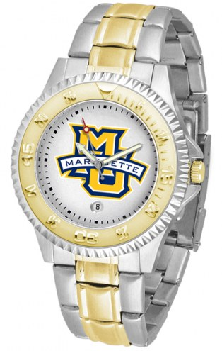 Marquette Golden Eagles Competitor Two-Tone Men's Watch