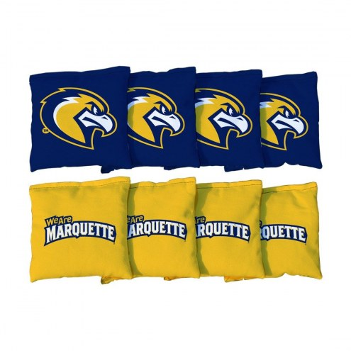 Marquette Golden Eagles Cornhole Bag Set