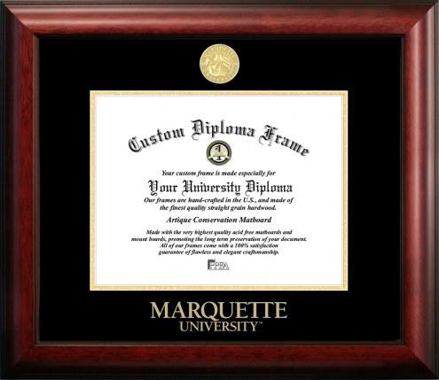 Marquette Golden Eagles Gold Embossed Diploma Frame