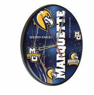 Marquette Golden Eagles Digitally Printed Wood Clock