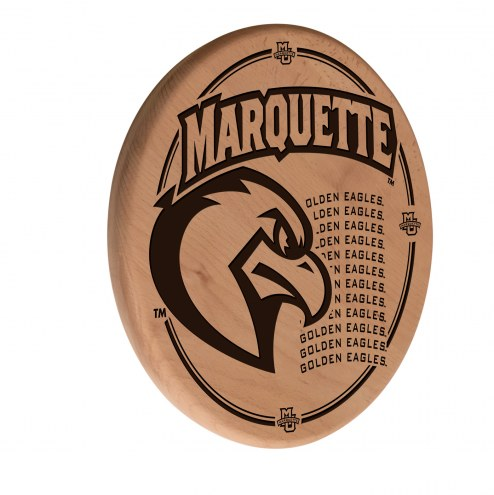 Marquette Golden Eagles Laser Engraved Wood Sign