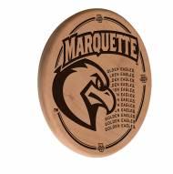 Marquette Golden Eagles Laser Engraved Wood Sign