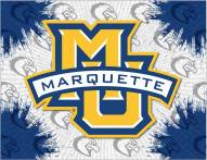 Marquette Golden Eagles Logo Canvas Print