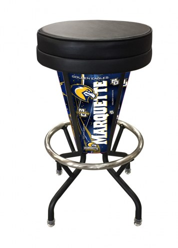 Marquette Golden Eagles Indoor/Outdoor Lighted Bar Stool