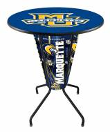 Marquette Golden Eagles Indoor/Outdoor Lighted Pub Table