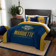 Marquette Golden Eagles Modern Take Full/Queen Comforter Set