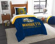 Marquette Golden Eagles Modern Take Twin Comforter Set