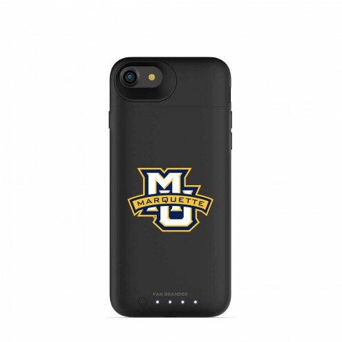 Marquette Golden Eagles mophie iPhone 8/7 Juice Pack Air Black Case