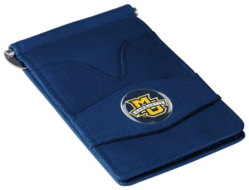 Marquette Golden Eagles Navy Player's Wallet