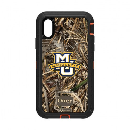 Marquette Golden Eagles OtterBox iPhone XR Defender Realtree Camo Case