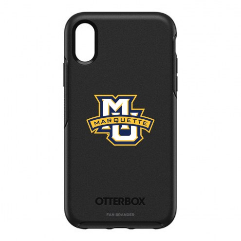 Marquette Golden Eagles OtterBox iPhone XR Symmetry Black Case