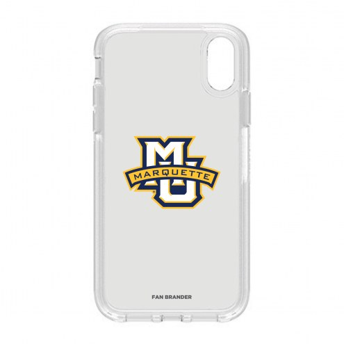 Marquette Golden Eagles OtterBox iPhone XR Symmetry Clear Case
