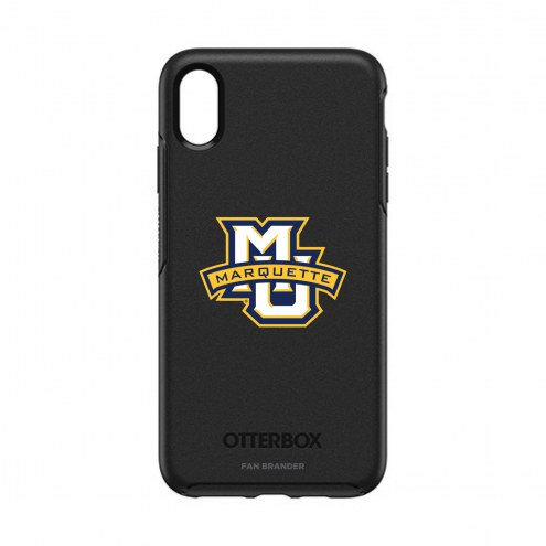 Marquette Golden Eagles OtterBox iPhone XS Max Symmetry Black Case