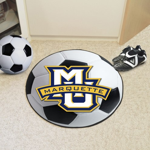 Marquette Golden Eagles Soccer Ball Mat
