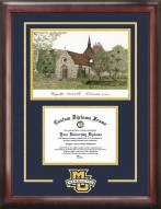 Marquette Golden Eagles Spirit Graduate Diploma Frame