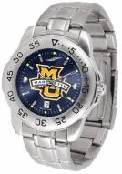 Marquette Golden Eagles Sport Steel AnoChrome Men's Watch
