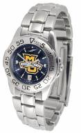 Marquette Golden Eagles Sport Steel AnoChrome Women's Watch
