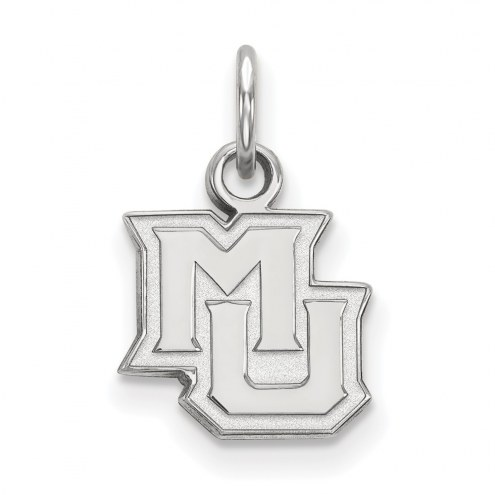 Marquette Golden Eagles Sterling Silver Extra Small Pendant