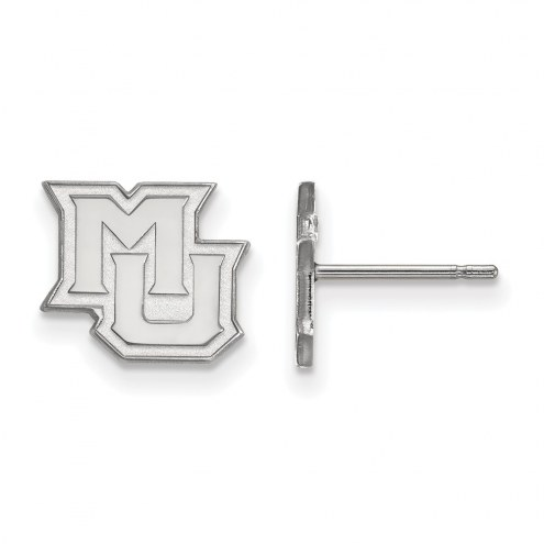 Marquette Golden Eagles Sterling Silver Extra Small Post Earrings