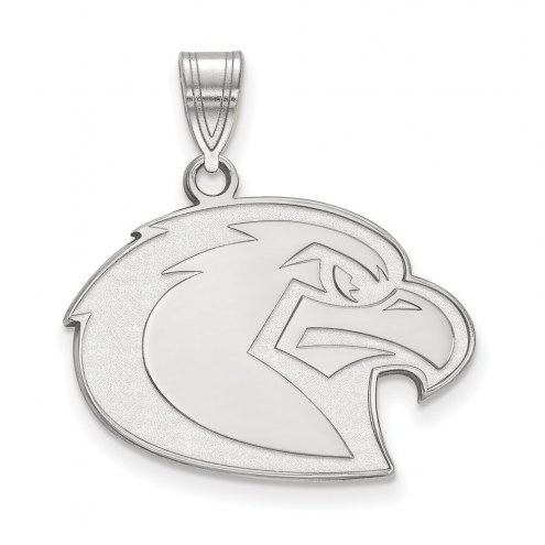Marquette Golden Eagles Sterling Silver Large Pendant