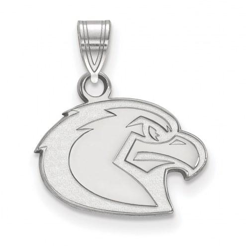 Marquette Golden Eagles Sterling Silver Small Pendant