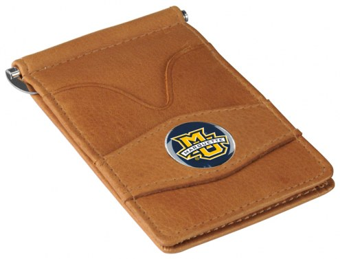 Marquette Golden Eagles Tan Player's Wallet