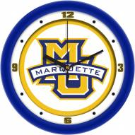 Marquette Golden Eagles Traditional Wall Clock