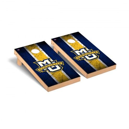 Marquette Golden Eagles Vintage Cornhole Game Set