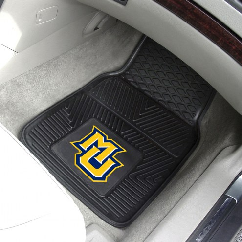Marquette Golden Eagles Vinyl 2-Piece Car Floor Mats