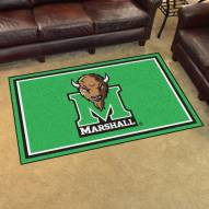 Marshall Thundering Herd 4' x 6' Area Rug