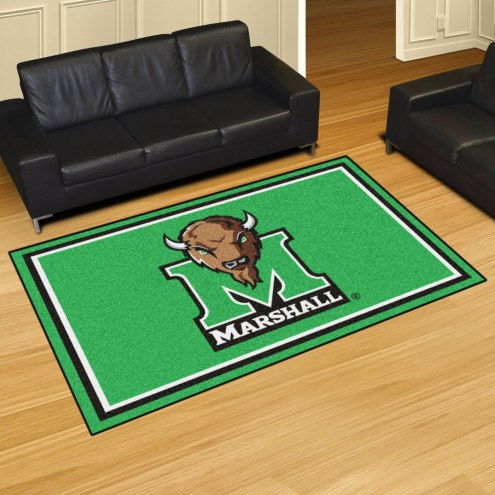 Marshall Thundering Herd 5' x 8' Area Rug