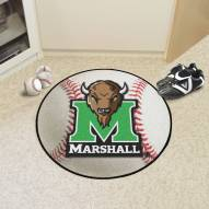 Marshall Thundering Herd Baseball Rug