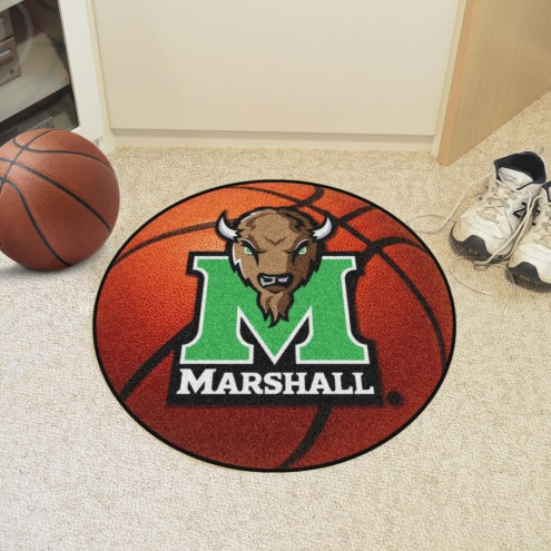 Marshall Thundering Herd Basketball Mat