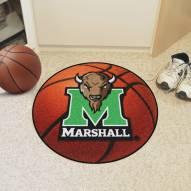 Marshall Thundering Herd Basketball Mat
