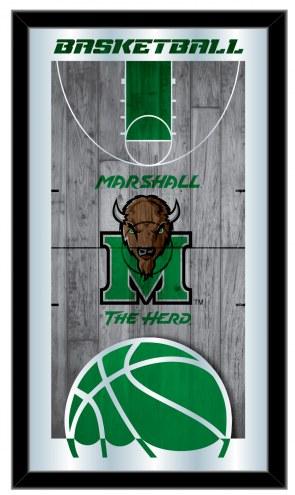 Marshall Thundering Herd Basketball Mirror
