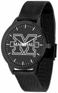 Marshall Thundering Herd Black Dial Mesh Statement Watch